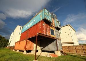 McGowen Container House | Weird Homes Tour Houston