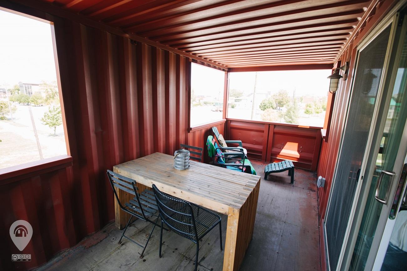 Three Story Cargo Home | Weird Homes Tour Detroit
