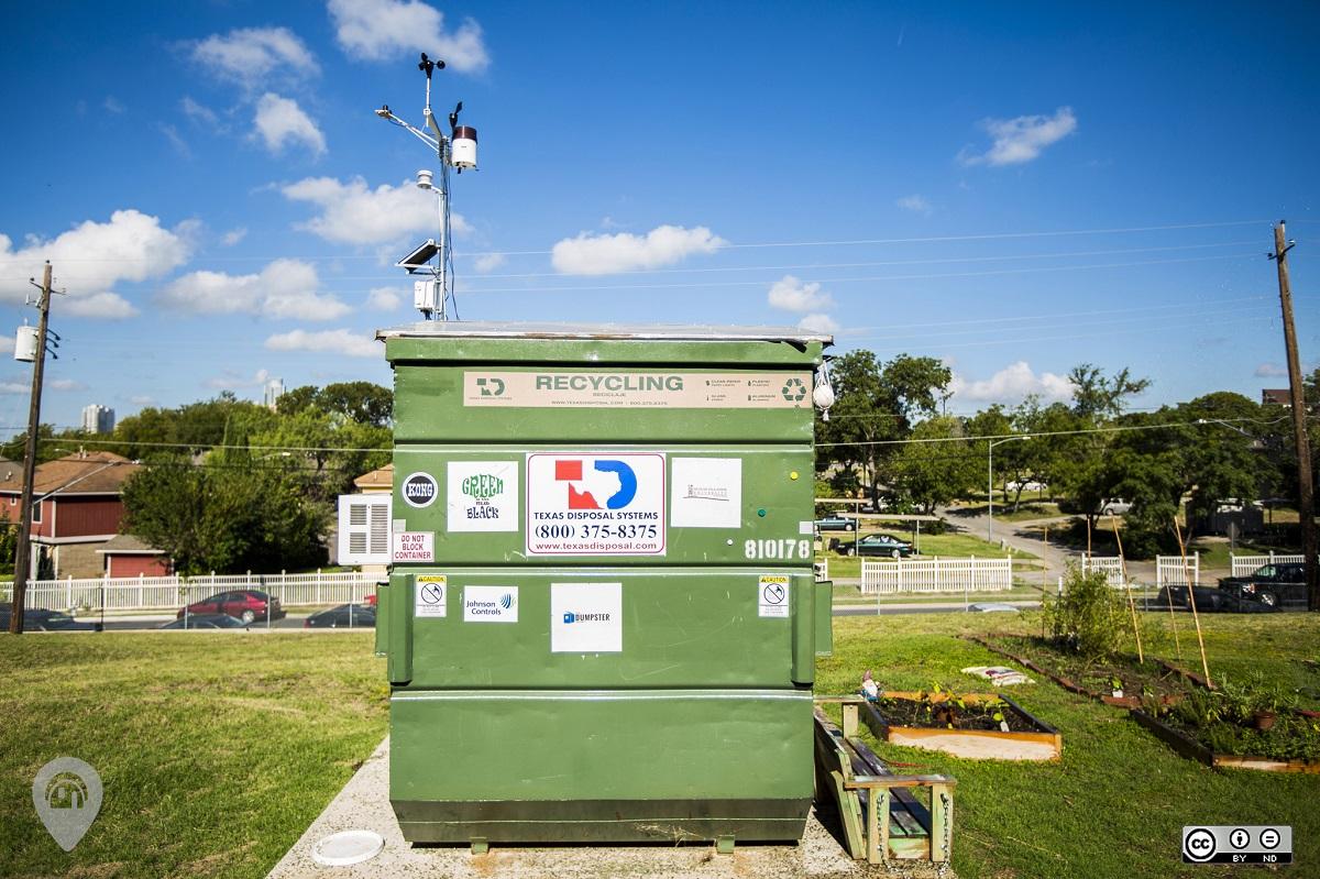 Dumpster Project | Weird Homes Tour Austin