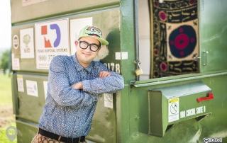 Dumpster Project   Weird Homes Tour Austin