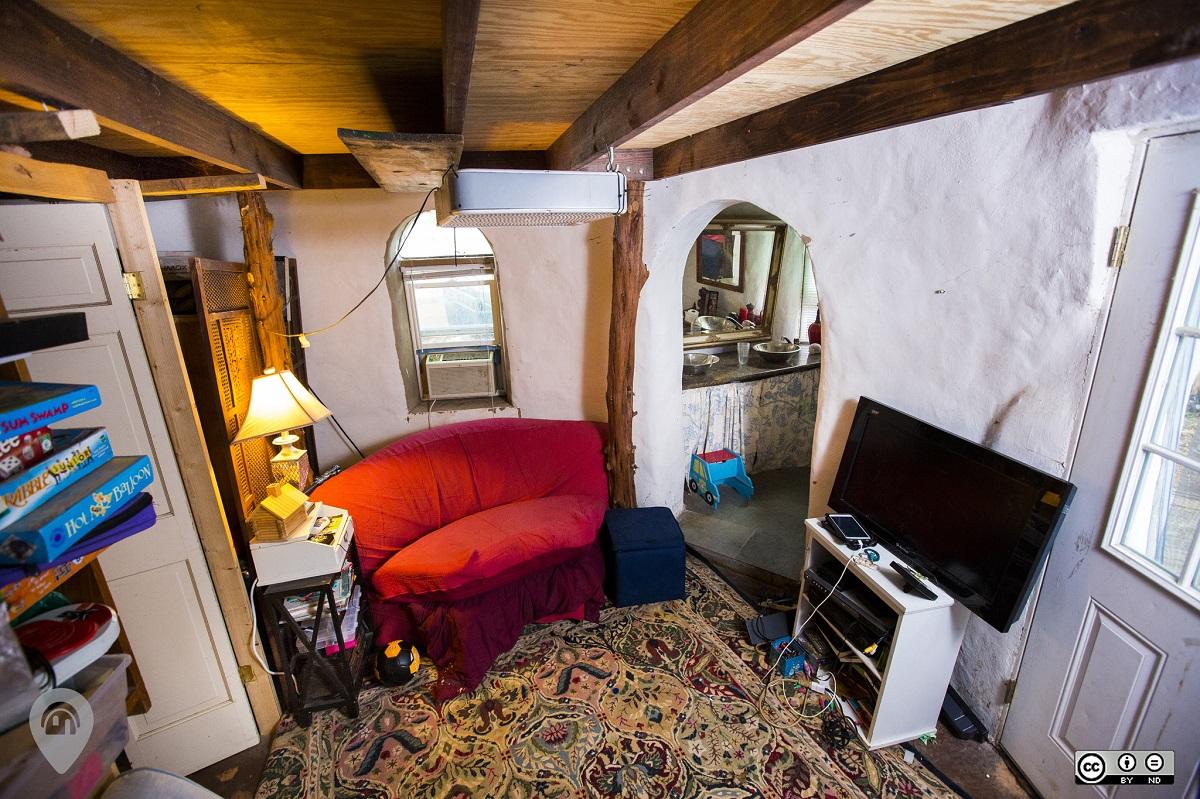 Earthbag Home | Weird Homes Tour Austin