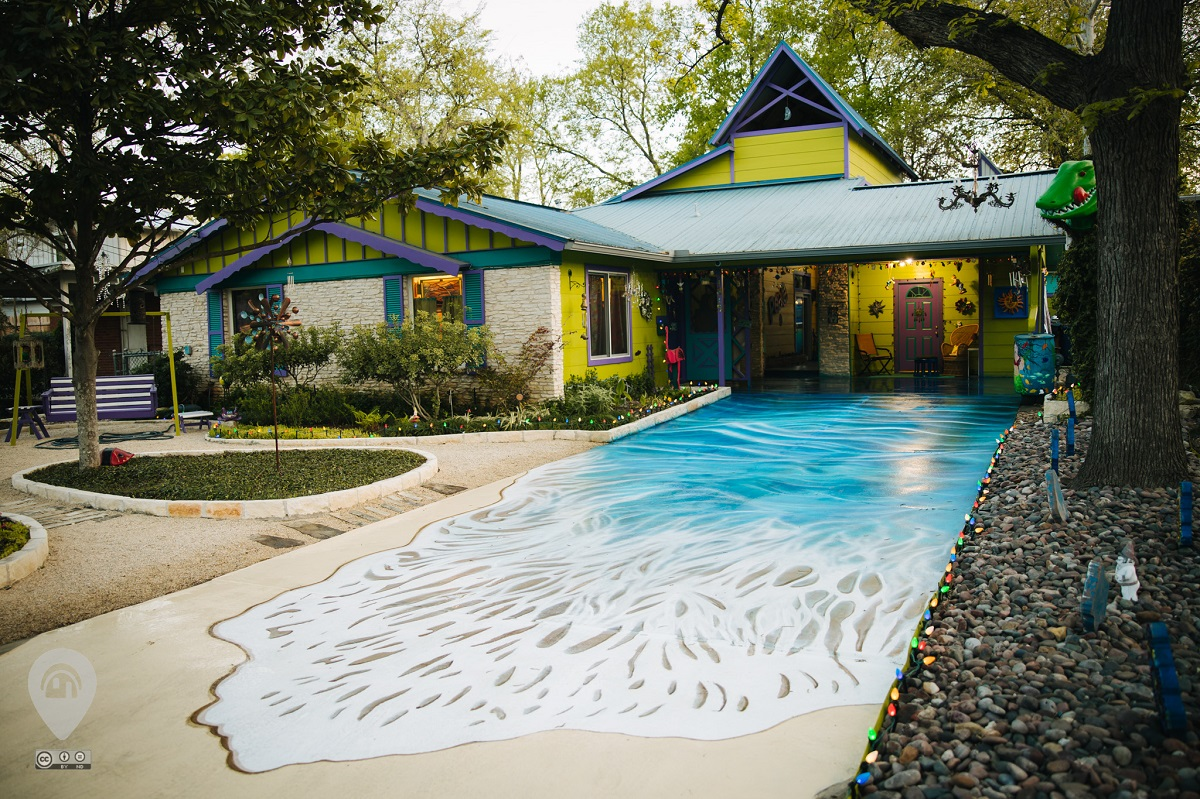 Under the Sea | Weird Homes Tour Austin
