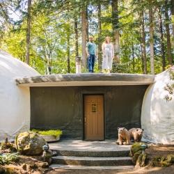 The Dome Home   Weird Homes Tour Portland