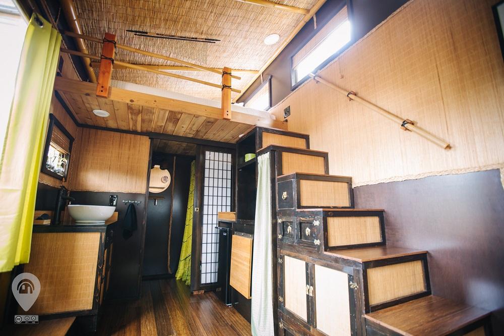 Tiny Digs Hotel | Weird Homes Tour Portland