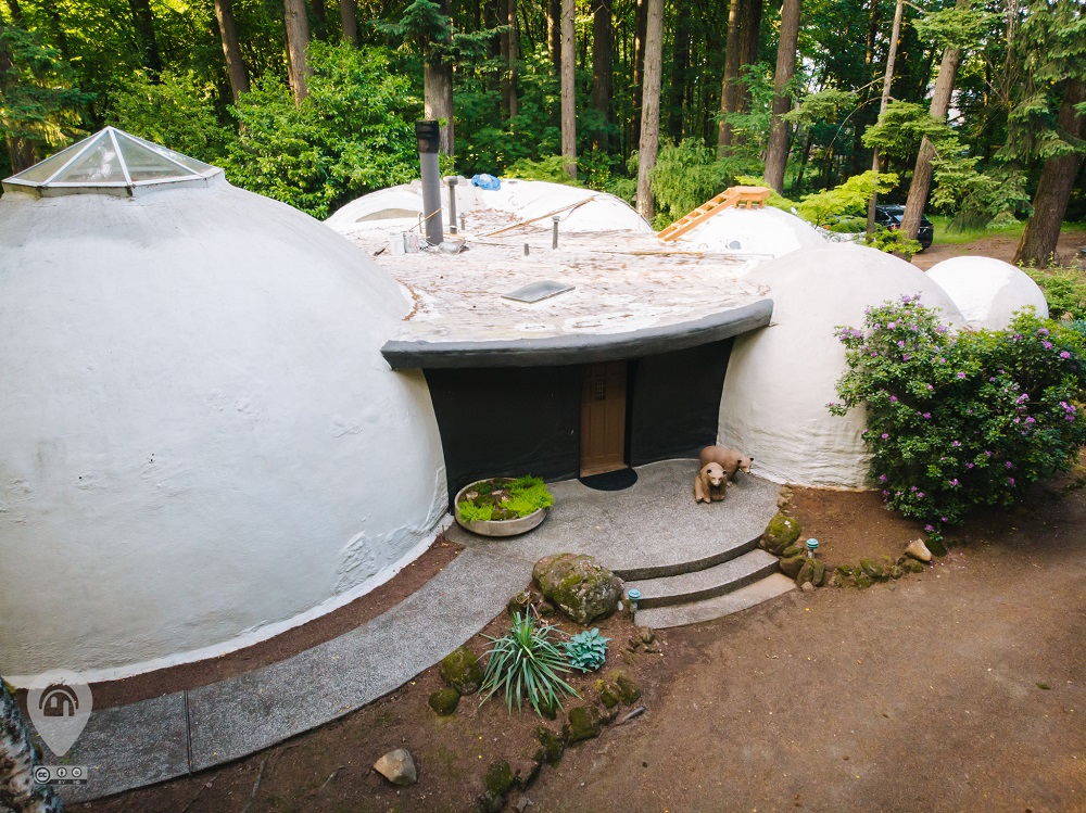 The Dome Home | Weird Homes Tour Portland