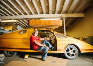 Home of the Wooden Car | Weird Homes Tour Houston