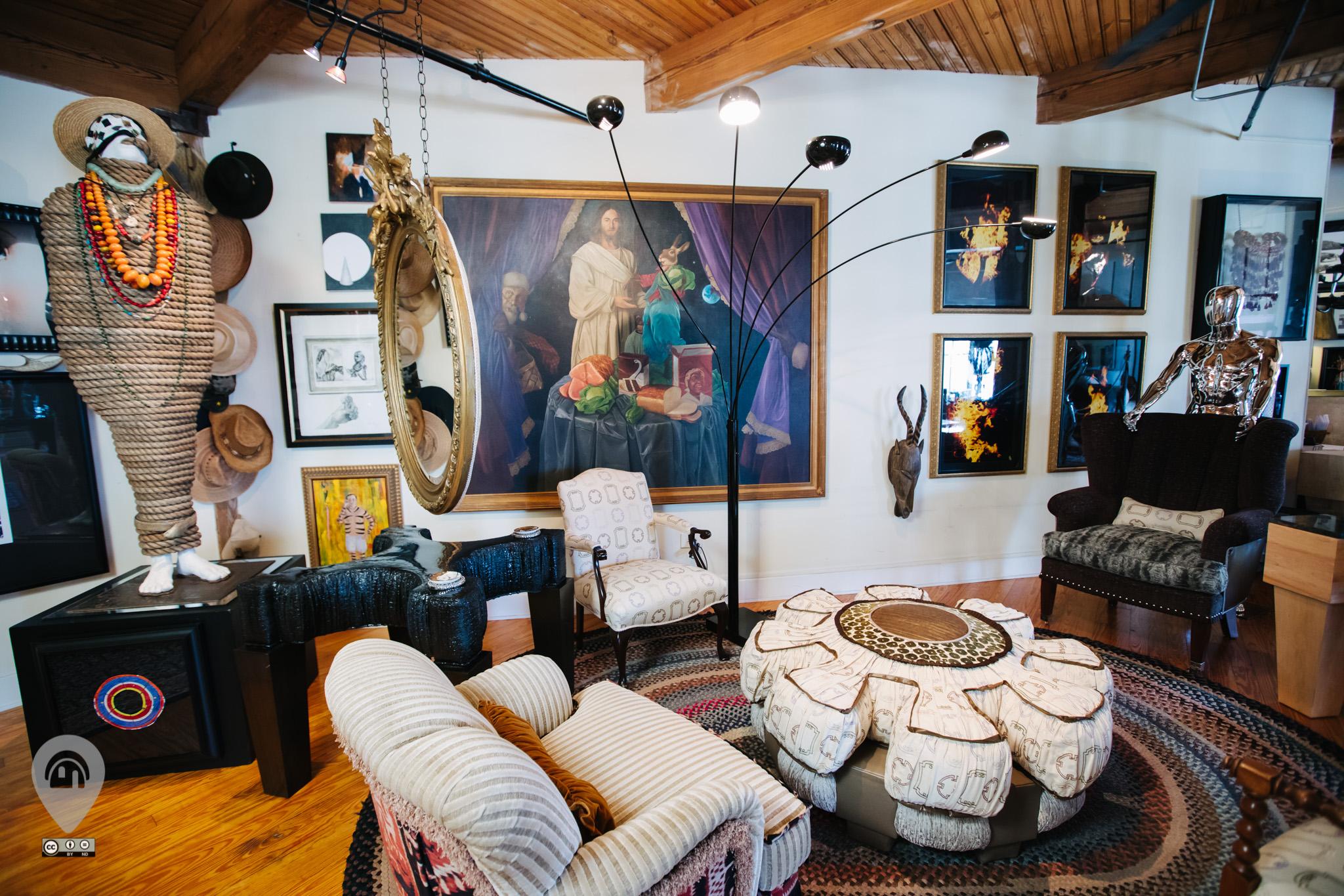 The KGA Compund   Weird Homes Tour Houston