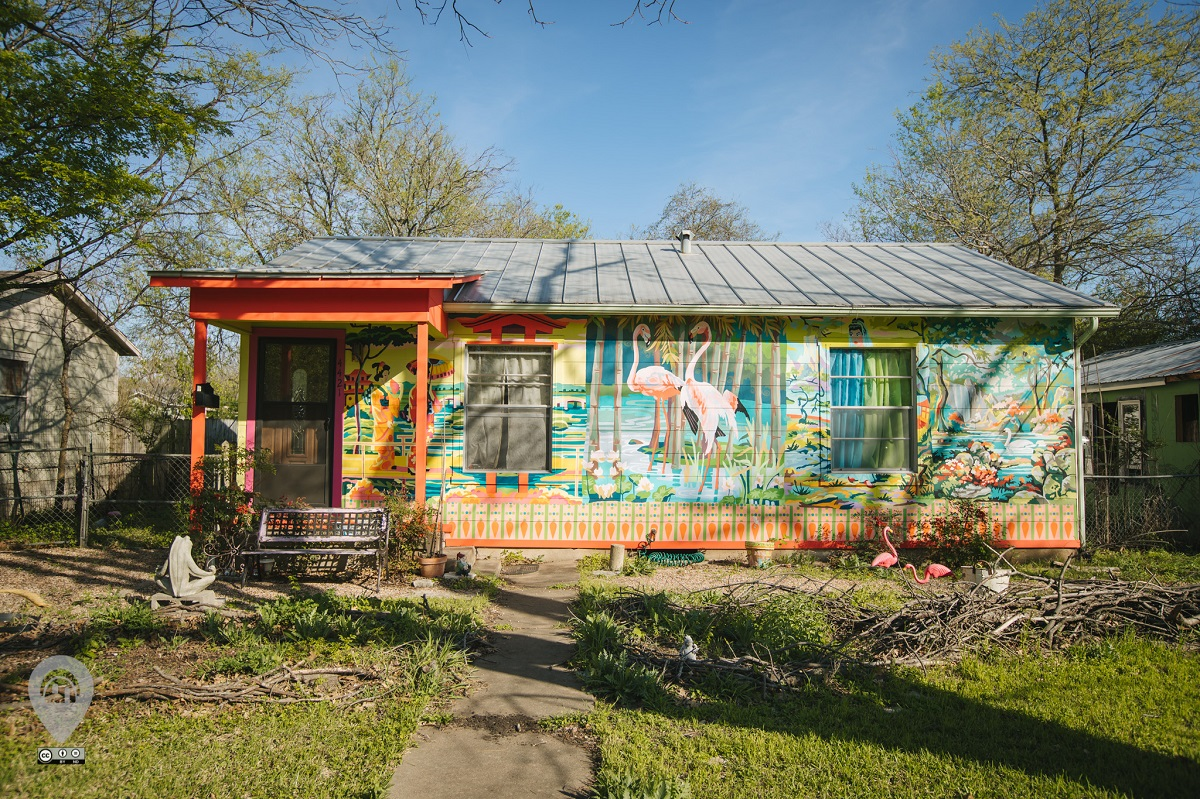 Paint by Number House House | Weird Homes Tour Austin