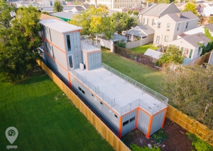 KAN House: Shipping Container Home | Weird Homes Tour New Orleans