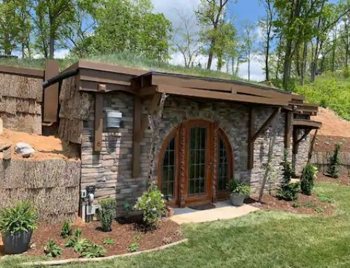 Step into a Lord of the Rings Approved Hobbit Home