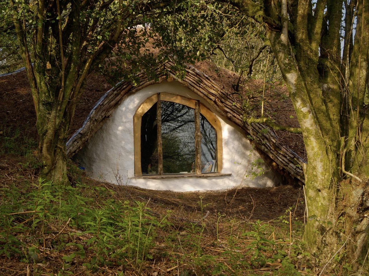 Window of Hobbit Home