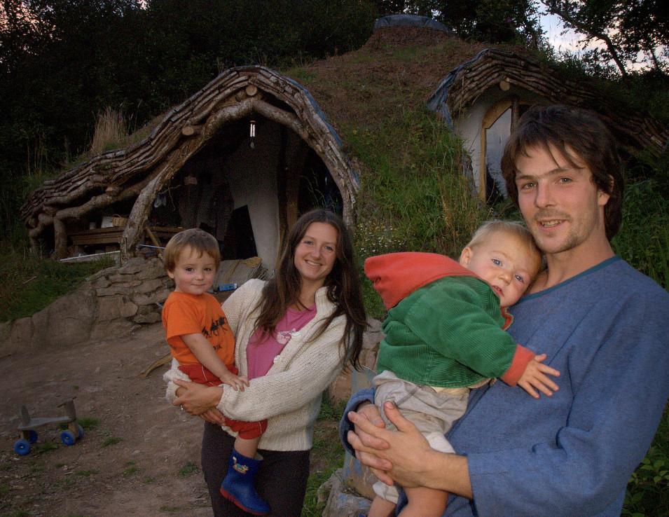 Family of Hobbit Home