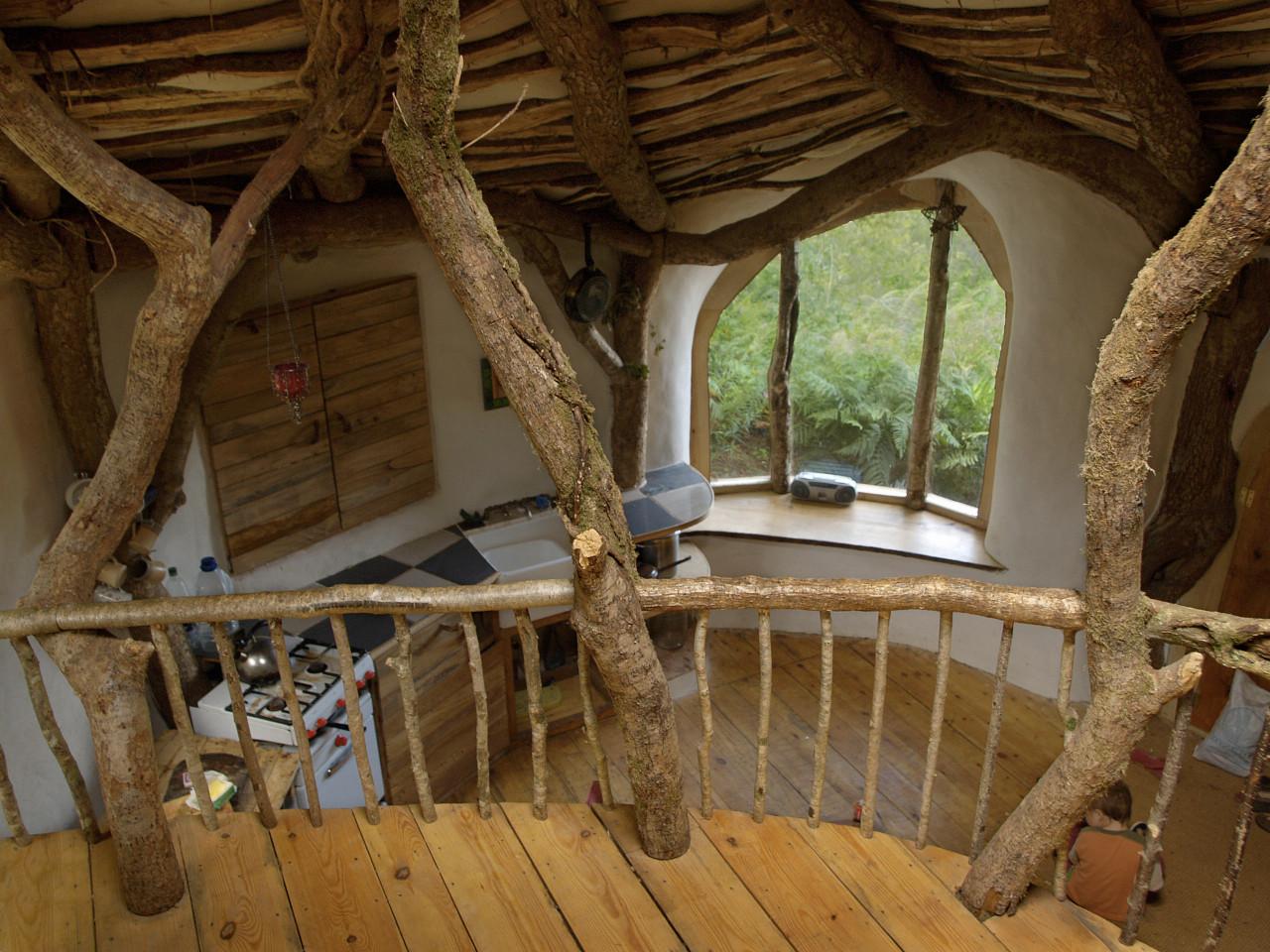 Balcony of Hobbit Home