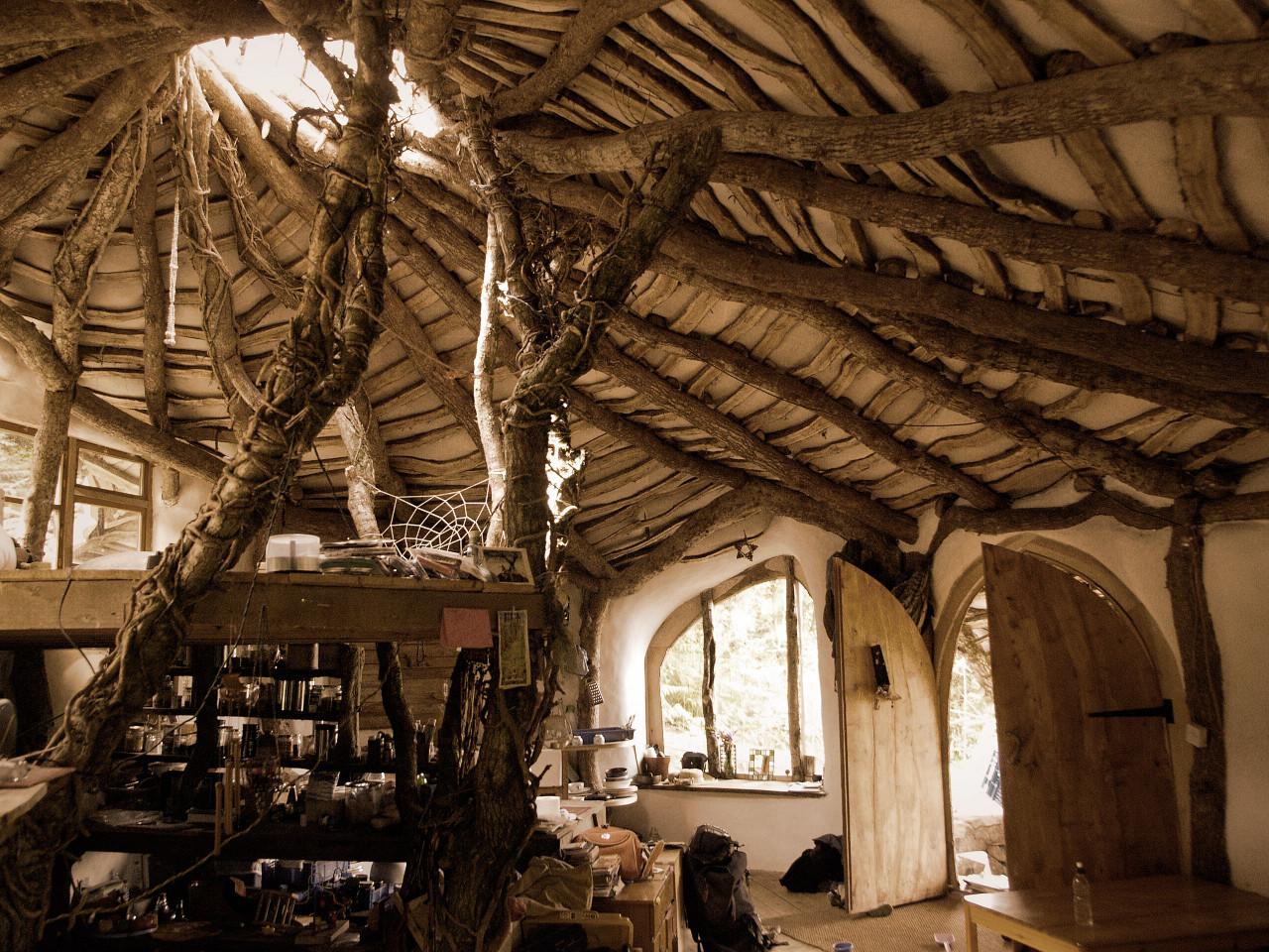 Kitchen of Hobbit Home