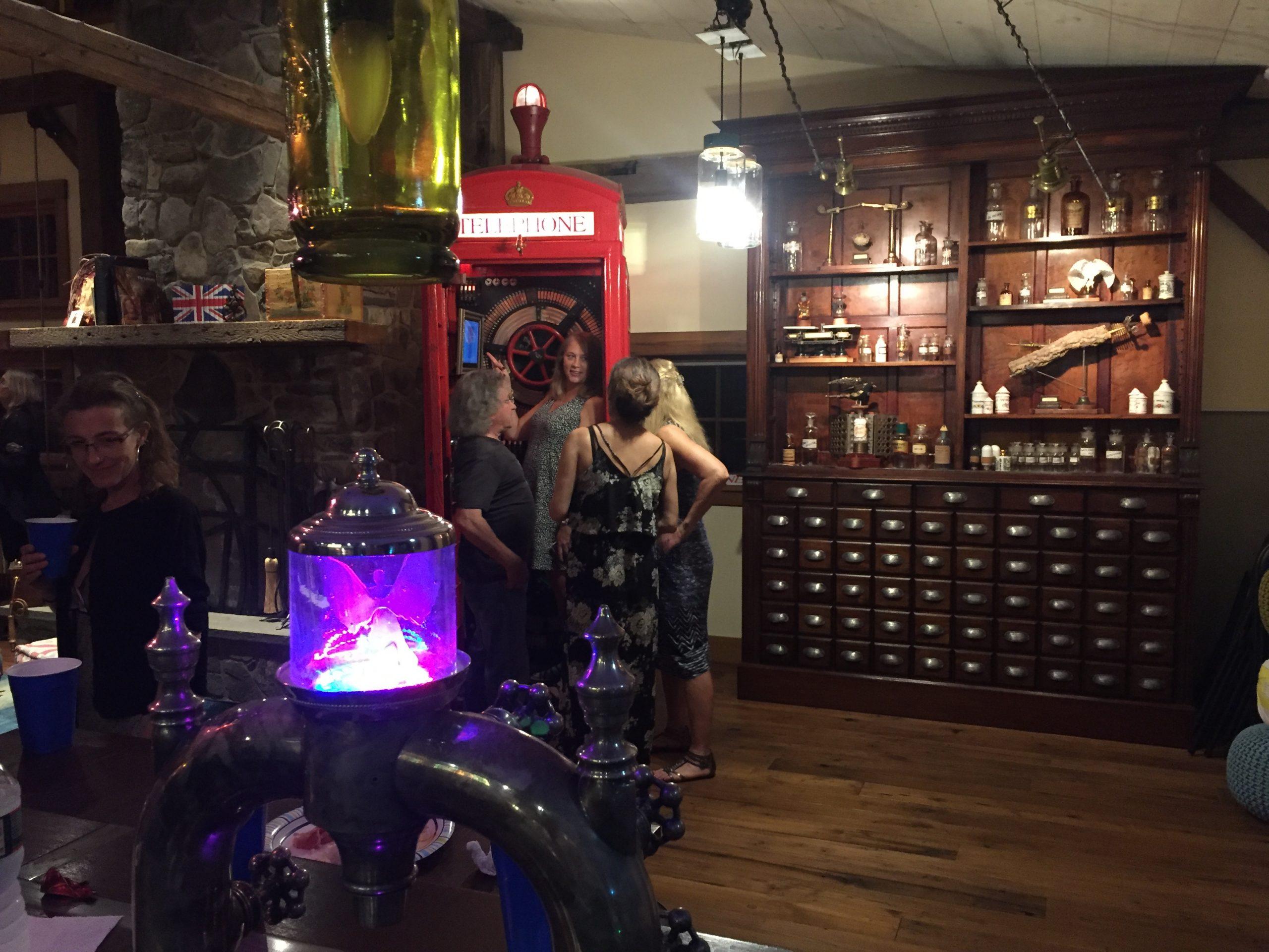 Steampunk Wonderland Cabinets
