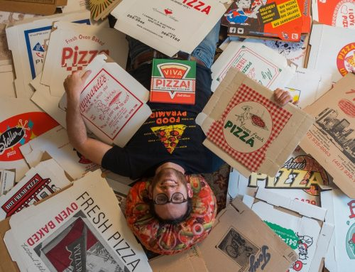 Explore the World's Largest Pizza Box Collection!