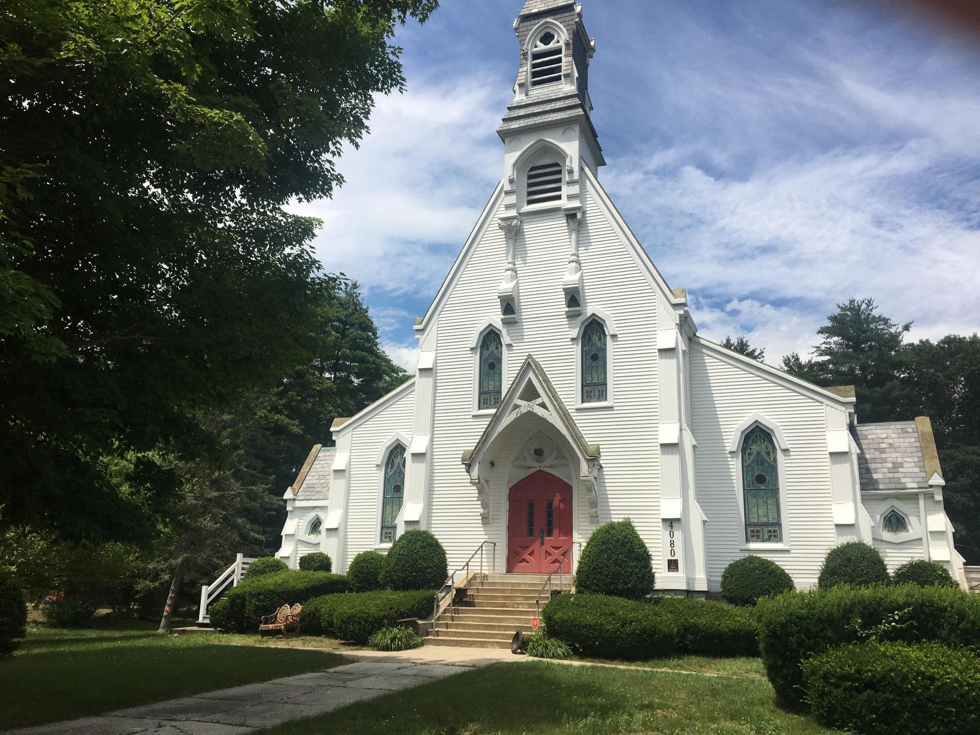 A Steampunk Church